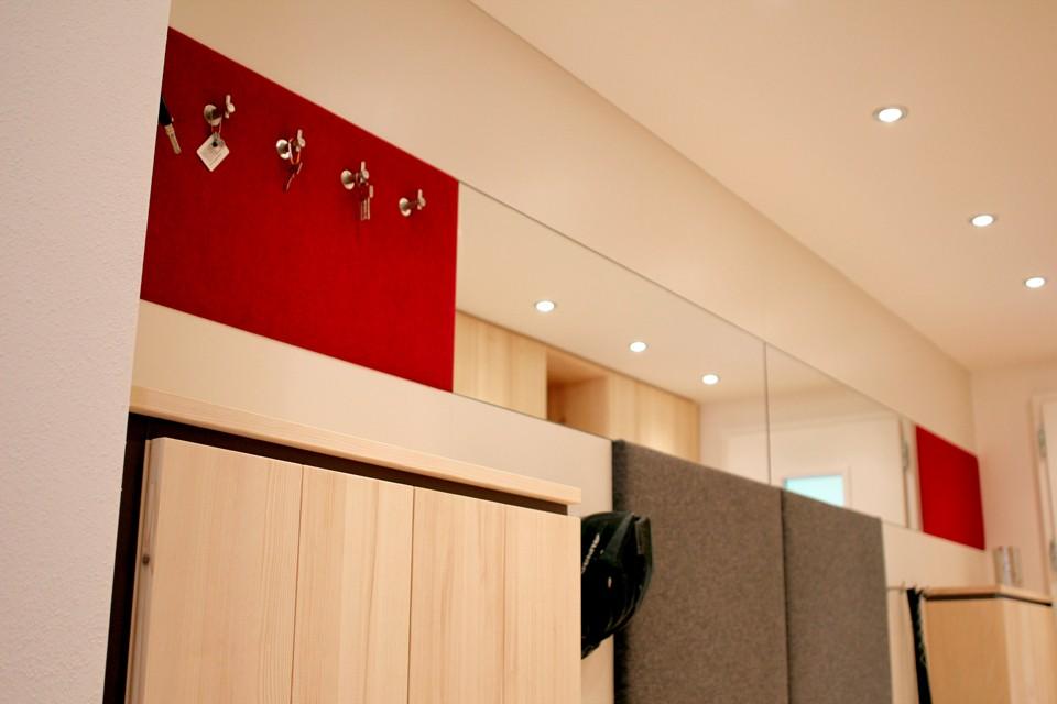 Eingang Garderobe eingang garderobe rudi rehle büro für gestaltung